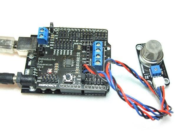 MQ-X传感器连线图