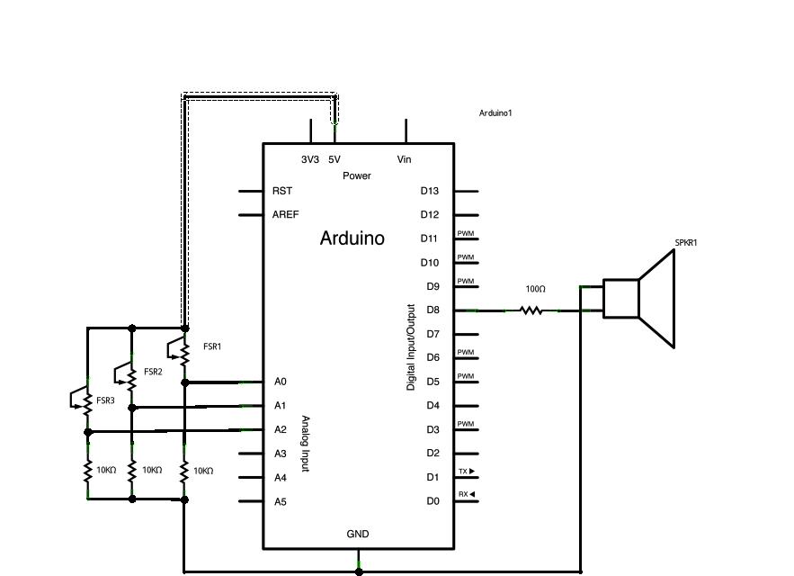 arduino内置教程-数字-音调键盘